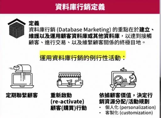 database marketing 定义