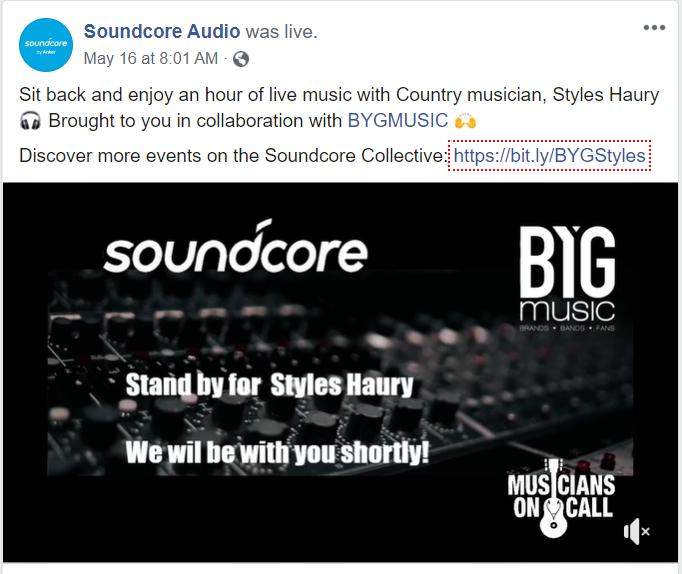 soundcore cooperation